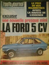 L'AUTO JOURNAL 1974 2 OPEL REKORD 2100 D RENAULT 6 850cc MOTOR HOME GMC BANDAMA
