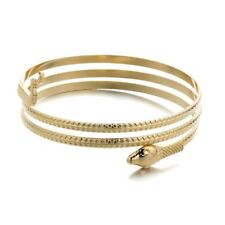 UK Snake Arm Harness Slave Chain Upper Armband Cuff Armlet Bracelet Gold Silver