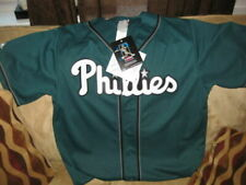 Majestic Chase Utley Mens Large Philadelphia Phillies White/red Sewn Jersey