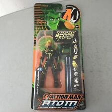 2005 HASBRO# Vintage Action Man Atom Alpha Teens#NIGHT OPS SHARK #MOSC