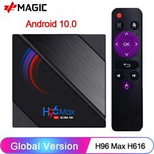 H96MAX - Android 10.0 Smart TV Box - 2.4G/5G Wifi - 6K - (H616)