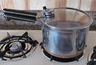 Vtg Pre-1968 Revere Ware Copper Clad Stainless Steel Pressure Cooker Sauce Pot
