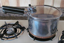 Vtg Pre-1968 Revere Ware Copper Clad Stainless Steel Pressure Cooker Sauce Pot