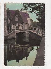 Brug Met Oude Huisje Delft Netherlands 1958 RP Postcard 377b