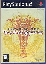 Breath of fire - Dragon Quarter -  PS2 - nuovo