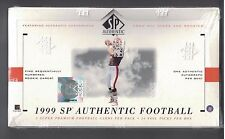1999 SP AUTHENTIC FACTORY SEALED FOOTBALL BOX 5/24 PACKS McNabb & Bailey ROOKIE?
