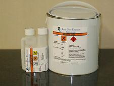 Fibreglass Resin Topcoat/Flowcoat WHITE  5kg inc hardener