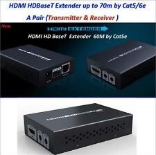 3D 4K*2K HDBaseT HDMI 1080P IR Remote LAN Extender Repeater over RJ45 Cat5e/Cat6