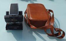 Vintage Polaroid SX-70 Sonar One Step  Land Camera including Leatherette Case