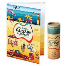 2019 Great Aussie Coin Hunt Alphabet A -Z folder + 26 $1 unc coins in coin tube