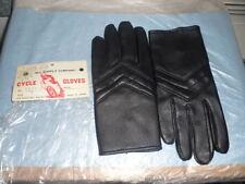 NOS MC Cycle Chopper Bobber Cafe Racer Vintage Gloves Black Small 5059-S Japan