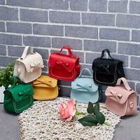 Kid Girl PU Bowknot Shoulder Crossbody Messenger Bag Wallet Purse Handbag Cute