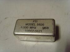 Harris Rf230 Rf2301 Pti Piezo Technology Inc Model 5826 9Mhz 10007-0621 Filter