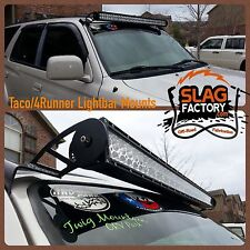 "96-02 Toyota 4Runner LED Light Bar Mounts 40"" 41"" 42"" Straight Powdercoated CNC"