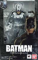 """JUSTICE LEAGUE - BATMAN - DC UNIVERSE S.H. FIGUARTS 5"""" / ca.16 cm FIGURE BANDAI"""