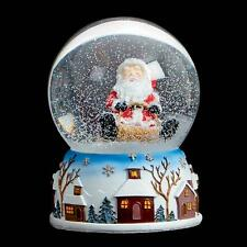 Premier Christmas 100mm Musical Snow Globe MO151339 - Santa