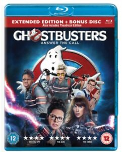 Ghostbusters - Answer The Call (2016) Blu-Ray *NEW & SEALED*