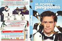 DVD FILM COMEDIE FAMILLE ENFANTS NEUF : MR POPPER ET SES PINGOUINS - JIM CARREY