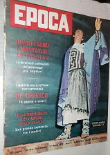 EPOCA 22 Marzo 1959 Vittorio Gassman Soraya Fenaroli Nadia Tiller Camorra di e