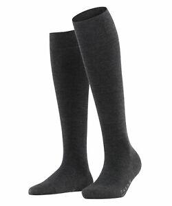 Falke Soft Merino Ladies Knee Stockings With Merino Wool
