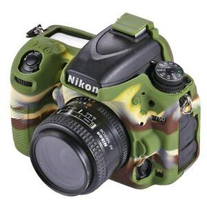 For Nikon D750 Camera Soft Silicone Body Protective Cover Case Skin