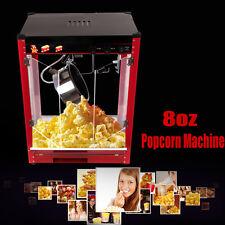 EU Stecker 1370W Kommerzielle Elektro Popcornmaschine Popcorn Maschine 8 OZ