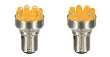 FIAT 500 F/L/R 126 COPPIA LAMPADE P21/5W LED LUCE ARANCIO PER FRECCE DIREZIONALI
