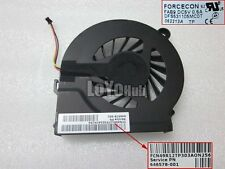 For HP CQ42 G4 G42 CPU Fan Forcecon DFS531105MC0T FAB9 646578-001 DC5V 3-Pin