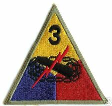 3rd Armored Division Spearhead Division - WW2 Repro Patch Badge Uniform Insignia