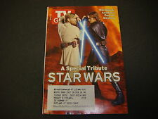 TV Guide May 1-7 2005 A Special Tribute Star Wars Survivor Greys Anatomy S3919