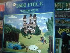 "Sleeping Cutie by Merry Kohn 1500 piece 24"" x 33"" jigsaw puzzle Bits & Pieces"