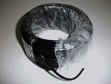 TUBO BENZINA (5 METRI) IN SILICONE COLORE NERO DIAMETRO Ø 2,5 x 8 mm (COD. 610)