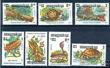 RETTILI E SERPENTI - REPTILES & SNAKES CAMBODIA 1983