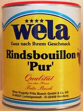 """wela - Rindsbouillon """"pur""""  62,5 Liter"""