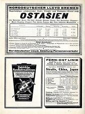 Heidenreich & Harbeck Hamburg Elektrische Handbohrmaschinen ND-Lloyd Bremen 1928