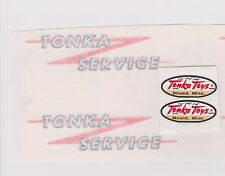 TONKA  SERVICE TRUCK DECAL SET -1961