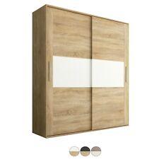 Armario dos puertas correderas, armario ropero vestidor altillo, 180 cm, Priego