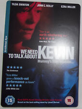 We Need to Talk About Kevin DVD (2012) John C. Reilly  Steelbook
