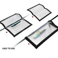 Fishing Bait Hook Protective Cover Transparent PVC Bag HOT Lure Storage R4D5