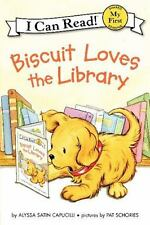 Biscuit Loves the Library (My First I Can Read)-ExLibrary