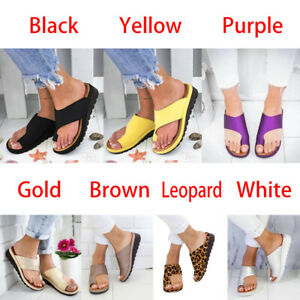 New Women Fashion Rubber Sandals PU Elegant Flip flop Casual Size 35-43 Outdoor