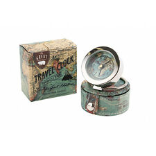 The Great Outdoors Vintage Map Travel Alarm Clock. Home. Gift