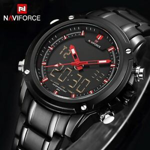 New NAVIFORCE Men Quartz Sports Military Wrist Watches Men's Luxury Style Brand