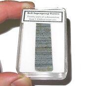 Precambrian Varves Rhythmites preserve 20 yrs sedimentation 1.4 billion yrs old