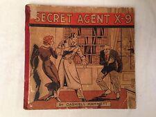 Dashiell Hammett - Secret Agent X-9 - 1st/1st 1934 - Rare Original Vintage Pulp