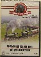RAILWAY ADVENTURES ACROSS EUROPE...ENGLISH AND -Educational DVD Series New