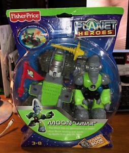 Fisher-Price Planet Heroes Moon Lunar Toy - Sealed New #8A