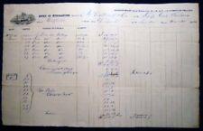 1864 CIVIL WAR ERA SHIP GENERAL WILLIAMS PHILADELPHIA ALSO TRANSPORTED IRISH