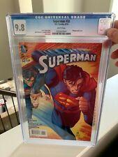 SUPERMAN (2011) #32 CGC 9.8 - 1ST APP OF OZ (JOR-EL)