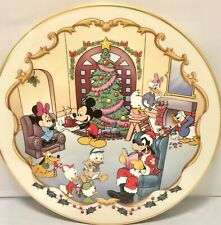 "Lenox ""Christmas at Mickey's"" 12"" Holiday Plate"